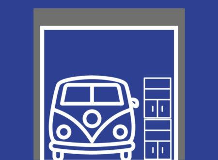 Typ 30: 30 m² / 149 m³ Lageraum für mindestens1 Fahrzeug / Wohnmobil und Regale bis 5,50 m Höhe