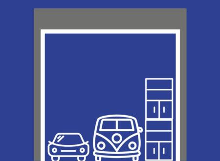Typ 60: 60 m² / 298 m³ Lageraum für mindestens 2 Fahrzeuge / Wohnmobile und Regale bis 5,50 m Höhe